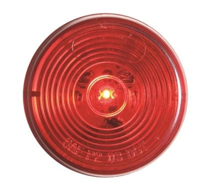 Optronics Fleet Red LED 2in Round MRK/CLR Light MCL-56RB -AT NexAge Trailer Parts We Price Match Etrailer with Free Shipping, Redline