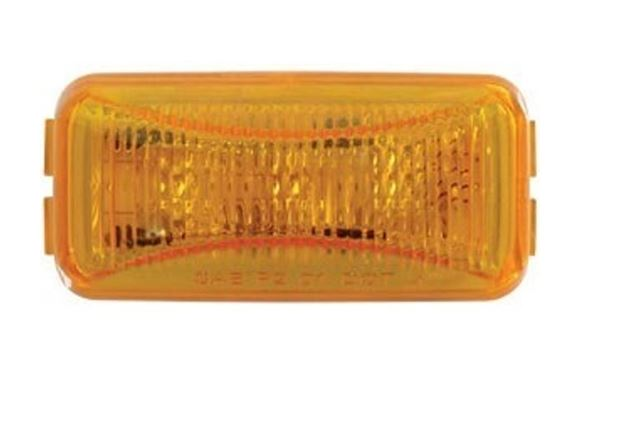 Optronics Amber LED Mini Thin Line MRK/CLR Light MCL-91AB -AT NexAge Trailer Parts We Price Match Etrailer with Free Shipping, Redline