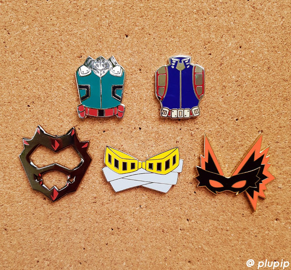 [ON-HAND] BNHA Costume Pins