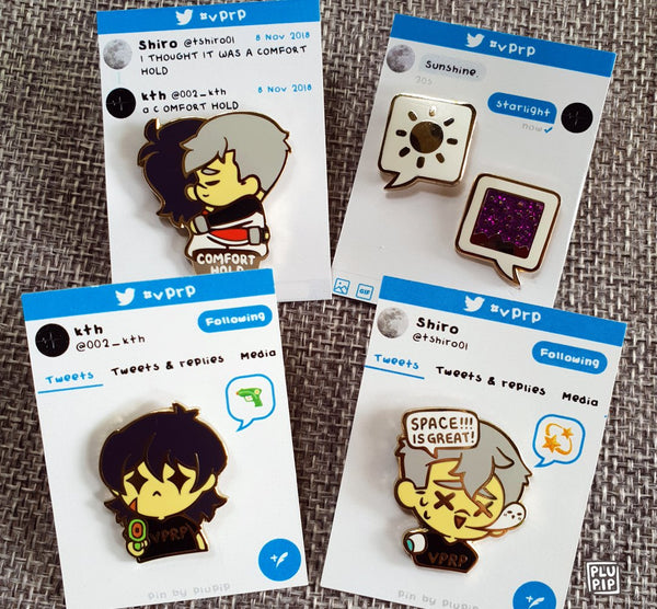 [ON-HAND] #VPRP Pins