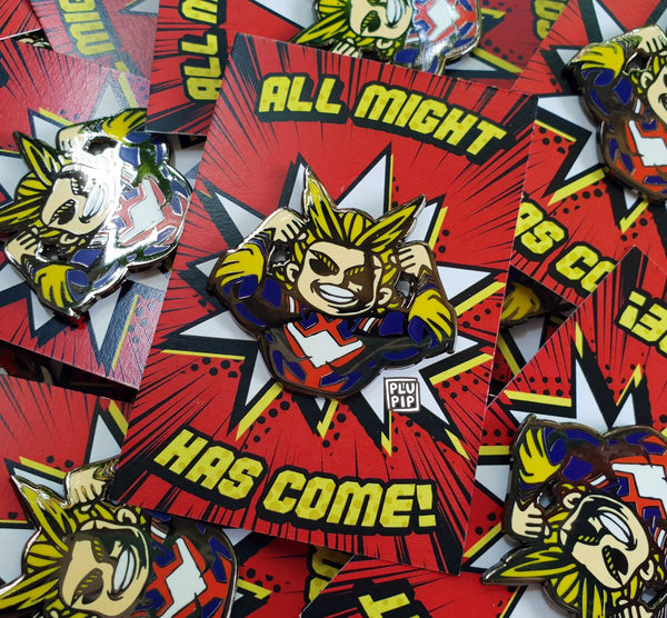 [ON-HAND] BNHA All Might Pin