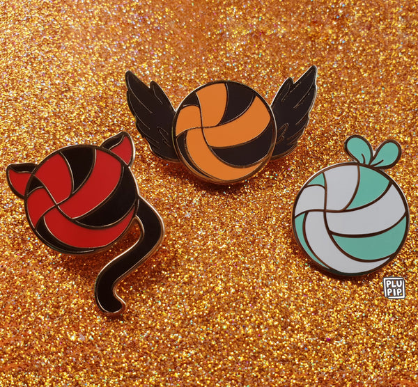 [ON-HAND] Haikyuu Pins (restocked!)