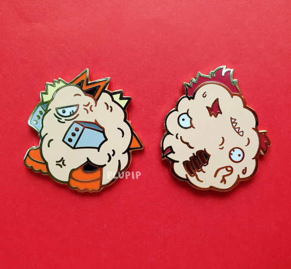 [ON-HAND] BNHA Meatball Pins