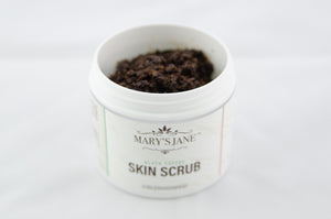 Black Coffee Skin Scrub (Open View)