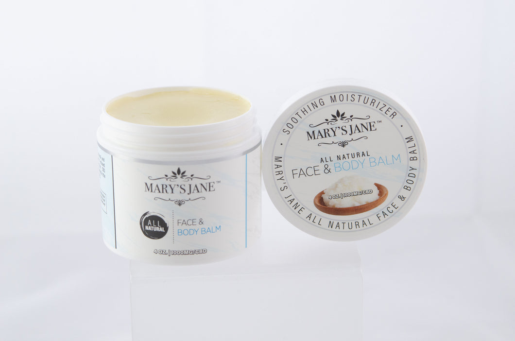 All Natural Face & Body Balm - CBD