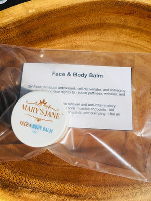face and body balm