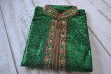 Load image into Gallery viewer, Men's Embroidered Kurtas - Green