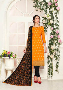 Gangour Collection Everyday Punjabi - Mustard/Black