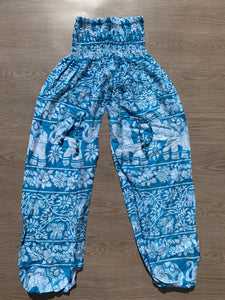 Aladdin Pants Sky Blue