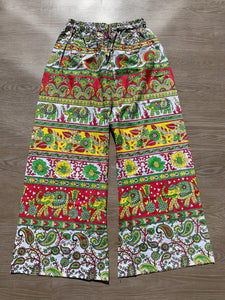 Palazzo Pants Red & Yellow