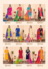Load image into Gallery viewer, Gangour Collection Everyday Punjabi - Blue and Lime
