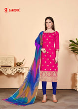 Load image into Gallery viewer, Gangour Collection Everyday Punjabi - Pink and Blue