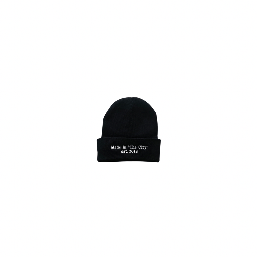 Unisex Made in 'The City' beanie