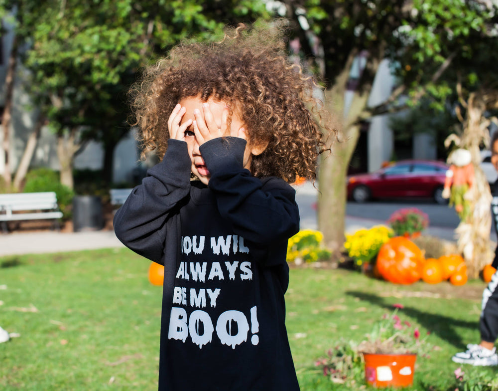 YOU WILL ALWAYS BE MY BOO L/S SHIRT