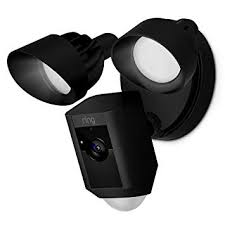 Ring Floodlight Cam - Black - [Smart Home], [Home Automation], [Smart Home Systems Dubai UAE], [Smart3]