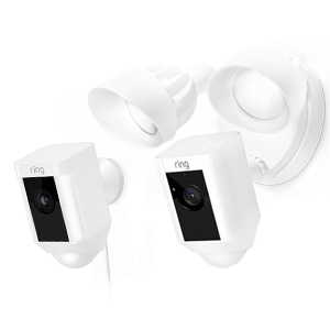 Ring Floodlight Cam - White - [Smart Home], [Home Automation], [Smart Home Systems Dubai UAE], [Smart3]