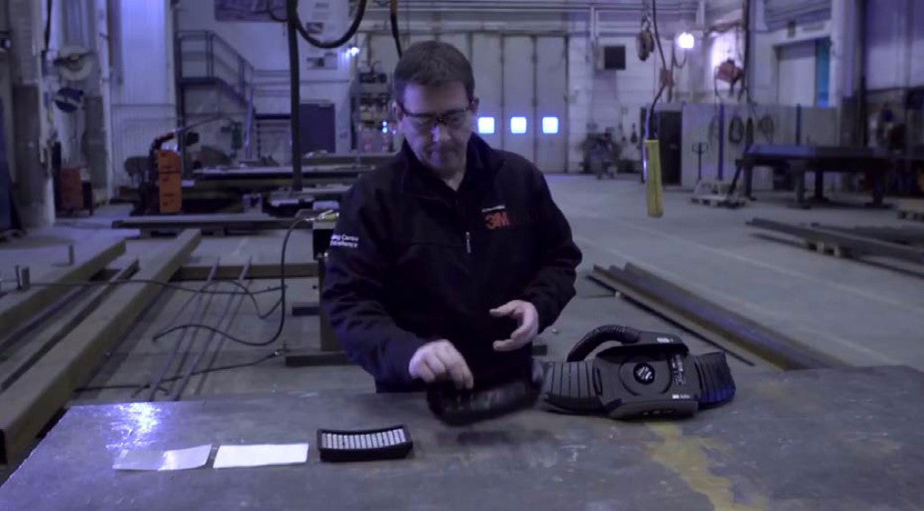 A great video on the 3M Speedglas Adflo Powered Air Welding Respirator