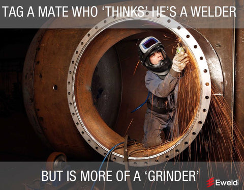 More of a grinder than a welder speedglas