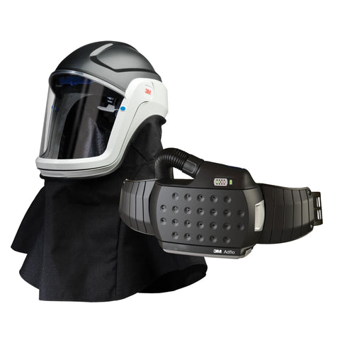 890307 M 307 Protective Visor With Adflo Papr Powered