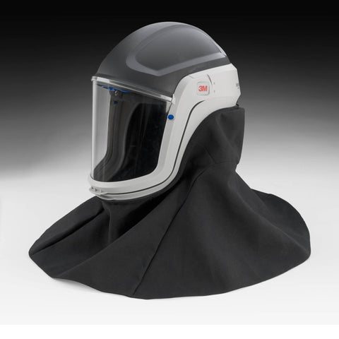 3M Face Shield & Safety Helmet with Flame Resistant Shroud 895407