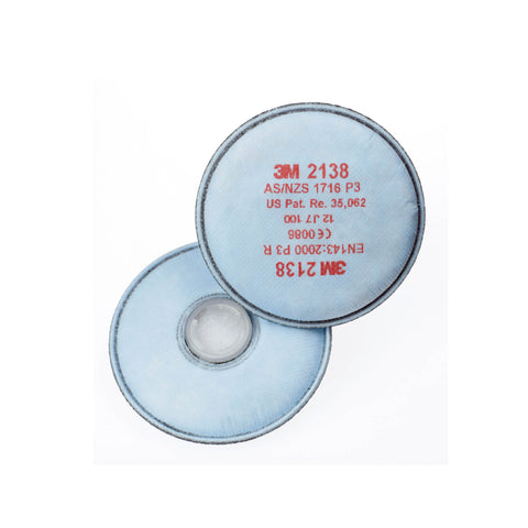 3M 2138 Welding Particle, Gas & Vapour Disk Filter