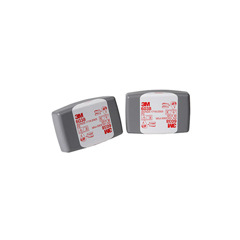 3M 6038 Filters Toxic Particulate P3(HF) (PK=2)