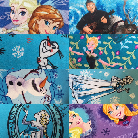 our Frozen Fabric in North east fabric shop