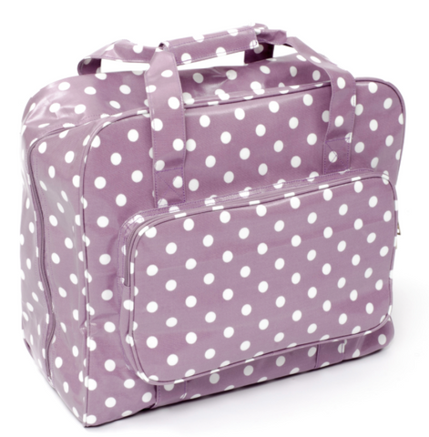 Sewing machine bag spotty