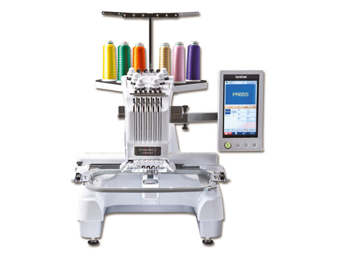 Brother 6 needle Embroidery Machine PR655e