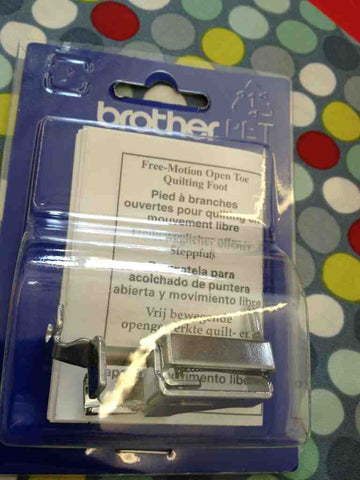 F061 Brother free-motion open toe quilt foot XE1097-001