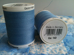 Gutermann Sew All Thread Col.143 1000m baby blue