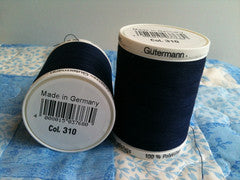 Gutermann Sew All Thread Col.310 1000m Dark Navy