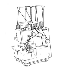 Singer 14U344  - Overlock Manual