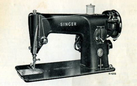 Singer 201k Instruction Book