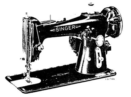Singer 206k Instruction Book