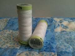 Top Stitch Thread Col.wht 30m White