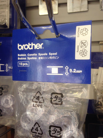Brother Bobbins 9 2 Mm Pack X10 Xa3812 151 Sa155