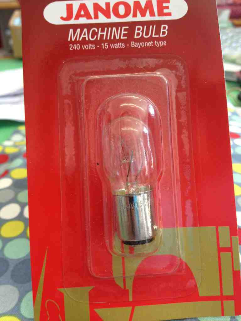 Janome Sewing Machine Light Bulb Bayonet Uk Sewing Machines