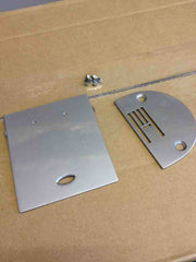 Jones 672 Needle Plate and Screws (will fit others)