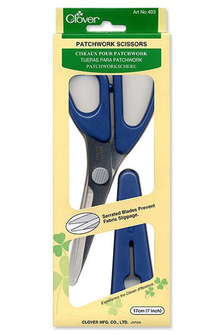 Clover Patchwork Scissors: Medium