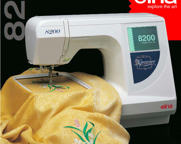 Embroidery Hoops and Attachments for Elna 8200, 8300, 8600 | UK