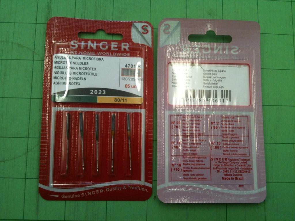 2023 Microtex Sewing Machine Needles Size 90 14 100 16