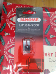 "Cat B. Cat C. 1/4"" Patchwork Seam Foot for Janome"