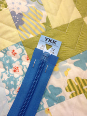 YKK Nylon Open End Zip 30cm 12inch: Dark Dusky Blue (162)
