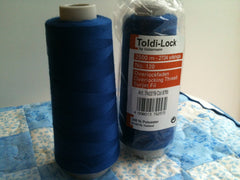 4x Toldi-Lock Overlocking Thread Col.6785 2500m Dark Blue
