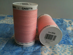 Gutermann Sew All Thread Col.659 500m Pink
