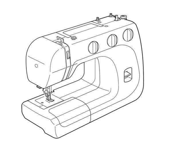 Janome 40 40 Instruction Manual UK Sewing Machines Stunning Instruction Manual For Janome Sewing Machine