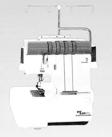 Janome 334 Overlocker Instruction Manual