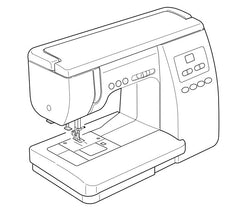 Janome 6260QC Instruction Manual