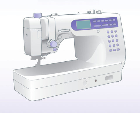 Janome 6500 Instruction Manual